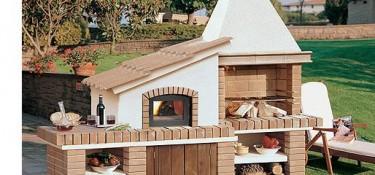 Barbacoa horno serena chimeneas pio - Disenos de hornos de lena ...