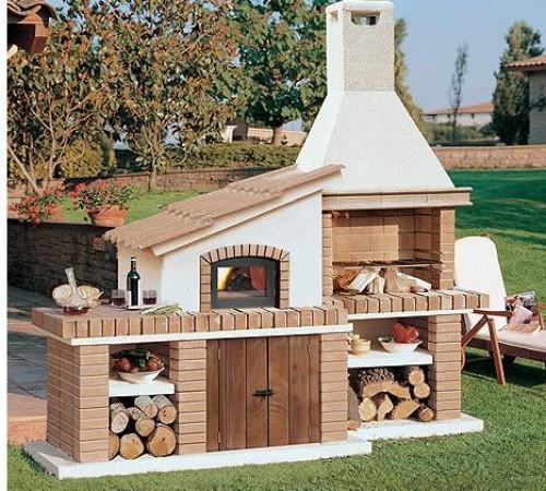 Barbacoa horno carf chimeneas pio - Barbacoas y hornos ...