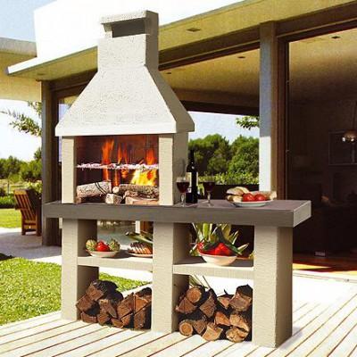Barbacoas de obra chimeneas pio - Cocinas exteriores modernas ...