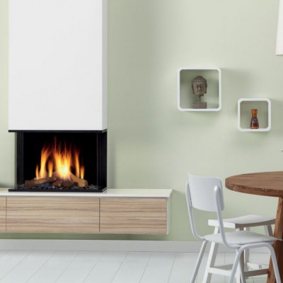 Chimenea de Gas Global 60 Triple BF
