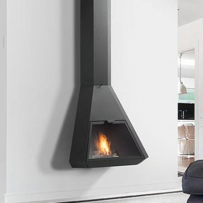 Chimenea metálica Arion frontal 2620€