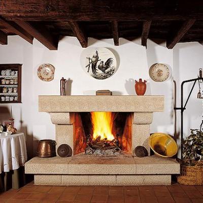 Chimeneas grandes r sticas chimeneas pio - Casas con chimeneas rusticas ...