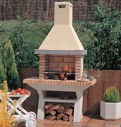 Barbacoas le a chimeneas pio for Barbacoas de jardin baratas