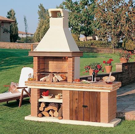Barbacoas jard n malta chimeneas pio - Barbacoas para jardin ...