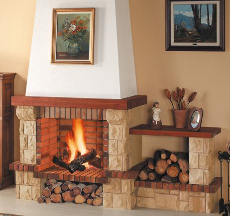 Chimenea Campana Decorativa